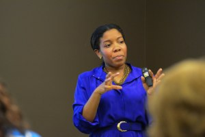 Kia Jarmon at Nashville Women Entrepreneurs Workshop